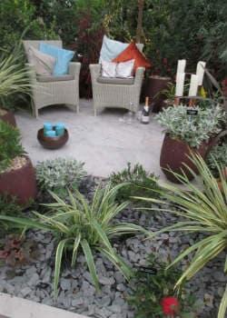 Mediterrane Sitzecke nach dem Garten anlegen