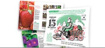 Kalender und Gartenbücher