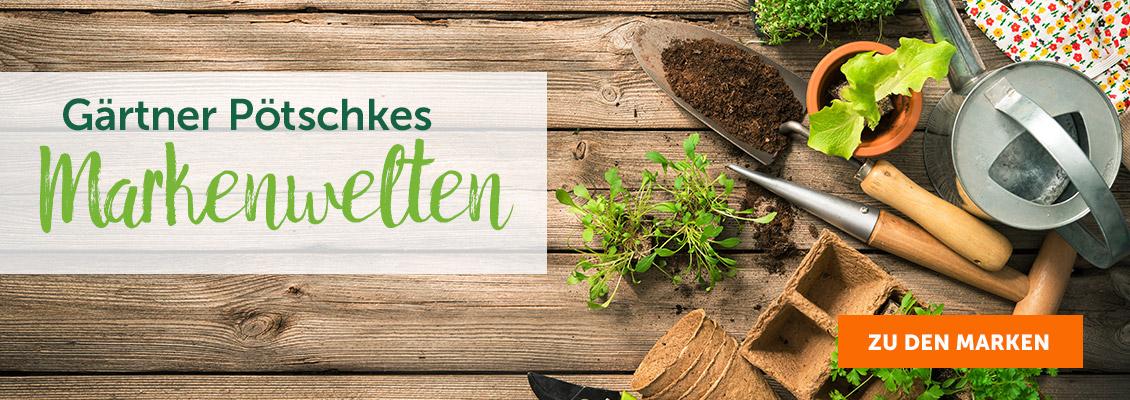 Gärtner Pötschkes Markenwelten