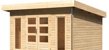 Gartenhäuser & -saunen