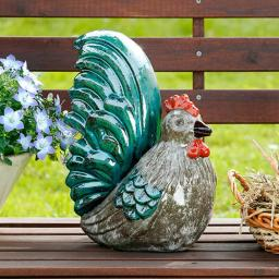 Gartenfigur Hahn Henry