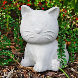 Terracotta-Katze Kitty Diva