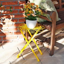 Blumentisch Colore Fleur gelb