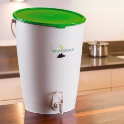 GARANTIA Urban Komposter 15 Liter, inkl. Kompost Beschleuniger