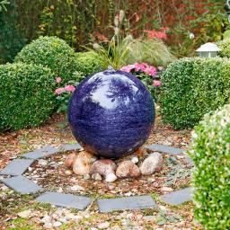 Kugelbrunnen Quelle des Glücks, groß, 50 cm