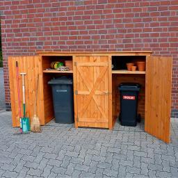 Mülltonnenschrank 3-türig