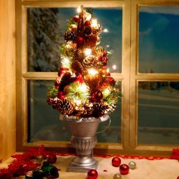 LED-Gesteck Adventsleuchten