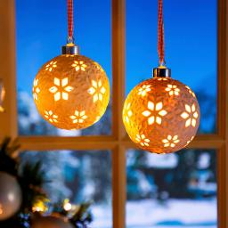 LED-Fensterdeko Schneeglanz