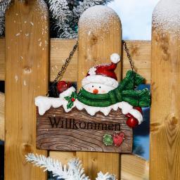 Türhänger Happy Snowman