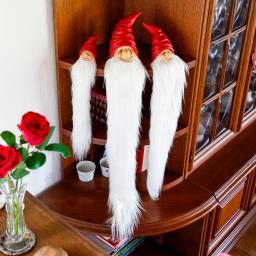 Weihnachts-Wichtel Rauschebart, 3er-Set