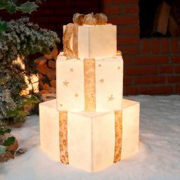 Leucht-Geschenke Winterzauber Trio