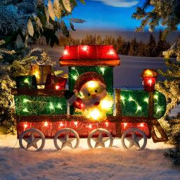 LED-Weihnachts-Lokomotive Tuff-Tuff