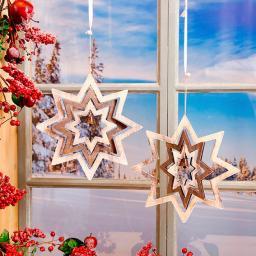 Fensterdeko Sternenzauber