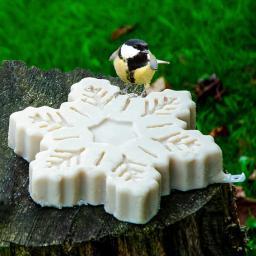Vogelfutter-Schneeflocke