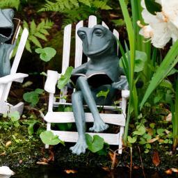 Gartendekoration Frosch Robbie