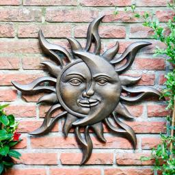 Wandbild Sonnenmond