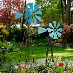 Garten Windmühle groß