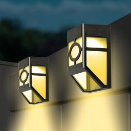 Solar Zaunlichter, 2er-Set