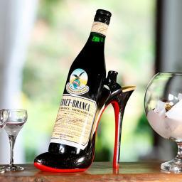 Flaschenhalter High Heels