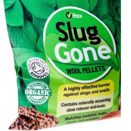 Schnecken-Barriere Slug Gone Schafwollpellets, 1 Liter