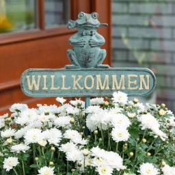 Gartenstecker Fröschlein