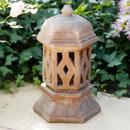 Terracotta-Lampe Aladin