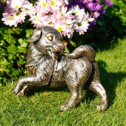 Gartenfigur Hund Streunerle