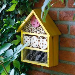 Insektenhaus Homely, gelb