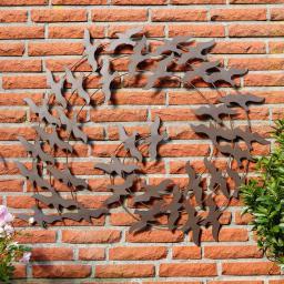 Wand-Deko Vogelschwarm