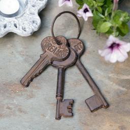 Deko-Schlüsselbund Nostalgie