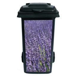 Container-Aufkleber Lavendelfeld