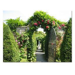 Gartengemälde Eden 130 x 70 cm