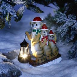 Solar-Weihnachts-Erdmännchen