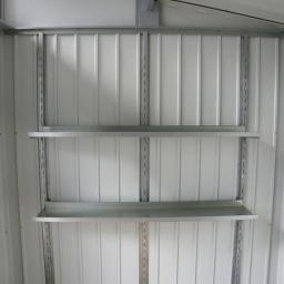 Regalset für Metallgerätehaus Palladium
