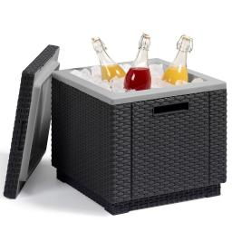 Rattan-Kühlbox Ice Cube