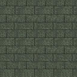 Dachschindeln Rechteck, grün