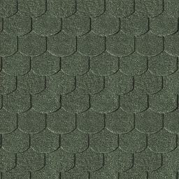 KARIBU Dachschindeln Biberschwanz, grün