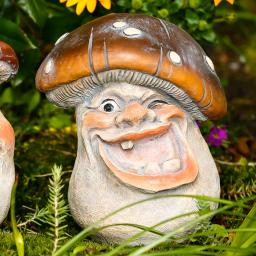 Garten-Deko Paulchen Pilz