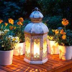 Stehlampe Antiqua