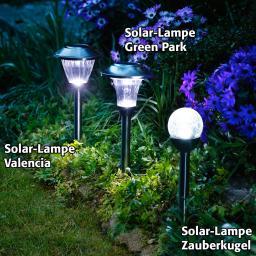 Solar-Lampe Zauberkugel