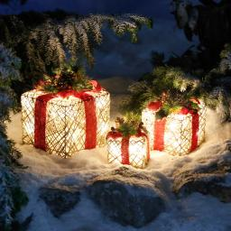 LED-Geschenke-Trio Vorfreude