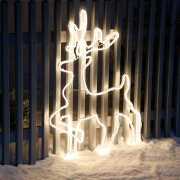 LED-Rentier-Silhouette Polaris