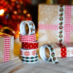 Deko-Klebeband Christmas Joy, 6er-Set