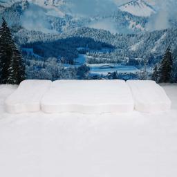 Schneeplatten, 3er-Set