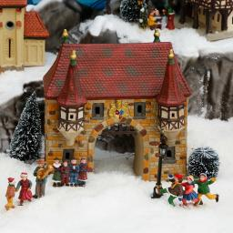 Miniatur-Stadttor
