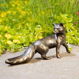 Bronze-Figur Fuchs Ermelyn