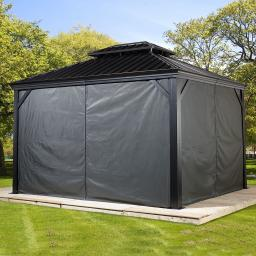 Vorhang-Set Pavillon Messina 10x12