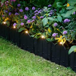 Solar-Gartenzaun Lichtblick, 12er-Set