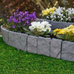 Gartenzaun Terra, 10er-Set
