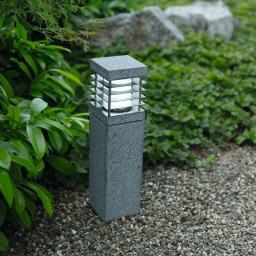 HEITRONIC® Sockelleuchte La Mer, Granit, 400 mm